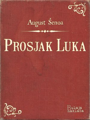 cover image of Prosjak Luka