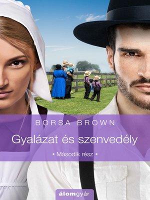 cover image of Gyalázat és szenvedély