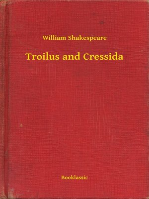 cover image of Troilus and Cressida