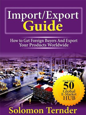 cover image of Import Export Guide