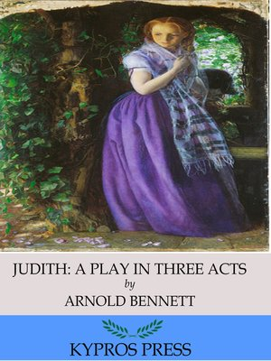 cover image of Judith: A Play in Three Acts