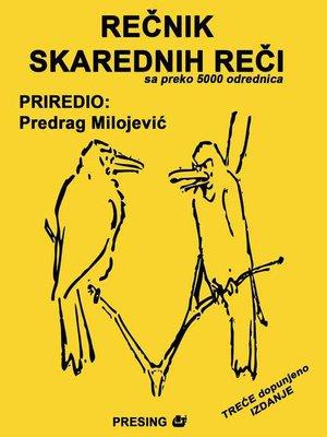 cover image of Rečnik skarednih reči i izraza u srpskom jeziku