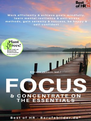 cover image of Focus & Concentrate on the Essentials