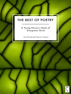 cover image of The Best of Poetry — A Young Person's Book of Evergreen Verse