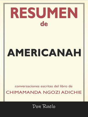 cover image of Resumen de Americanah