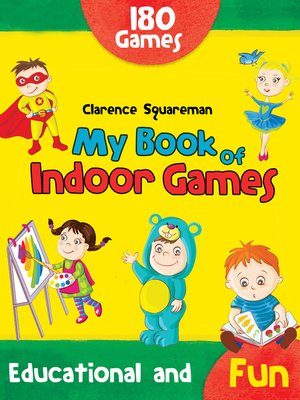 cover image of My Book of Indoor Games