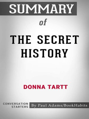 cover image of Summary of The Secret History