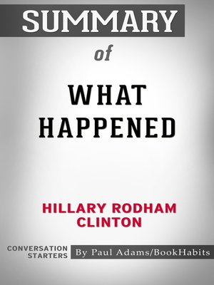 cover image of Summary of What Happened