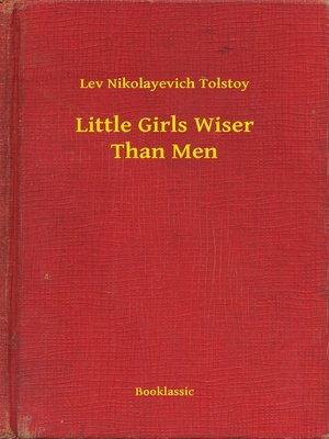 cover image of Little Girls Wiser Than Men