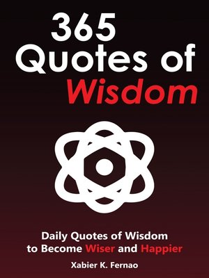 cover image of 365 Quotes of Wisdom