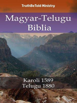 cover image of Magyar-Telugu Biblia