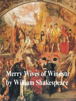 cover image of The Merry Wives of Windsor, with line numbers
