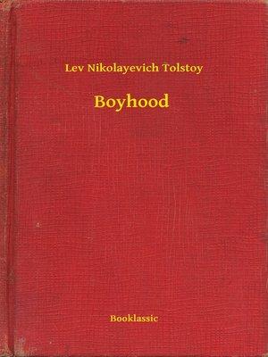 cover image of Boyhood
