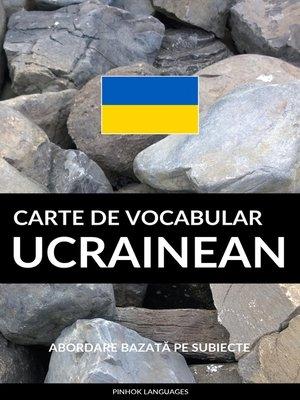 cover image of Carte de Vocabular Ucrainean