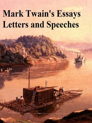 cover image of Mark Twain's Essays Letters and Speeches