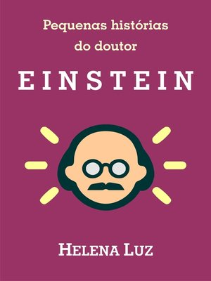 cover image of Pequenas histórias do doutor Einstein