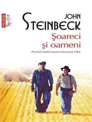 cover image of Şoareci şi oameni