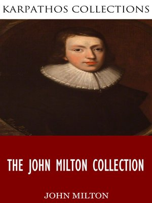cover image of The John Milton Collection