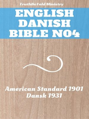 cover image of English Danish Bible No4