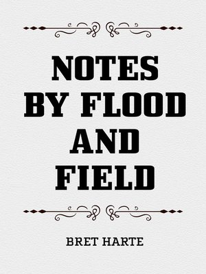 cover image of Notes by Flood and Field
