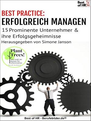 cover image of [BEST PRACTICE] Erfolgreich Managen