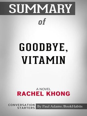 cover image of Summary of Goodbye, Vitamin