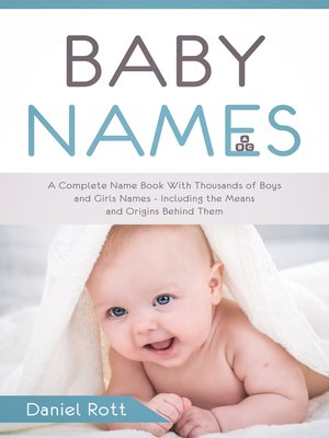 cover image of Baby Names