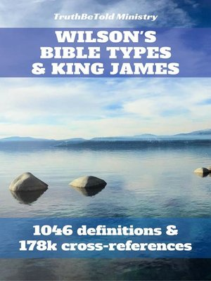 cover image of Wilson's Bible Types and King James