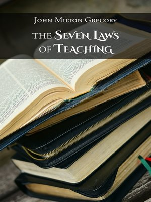 cover image of The Seven Laws of Teaching