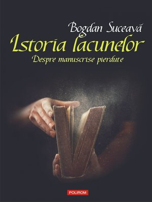 cover image of Istoria lacunelor