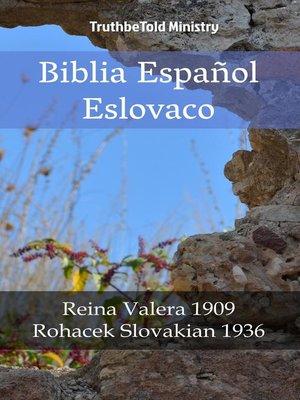 cover image of Biblia Español Eslovaco