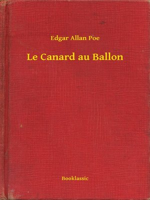 cover image of Le Canard au Ballon