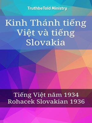 cover image of Kinh Thánh tiếng Việt và tiếng Slovakia