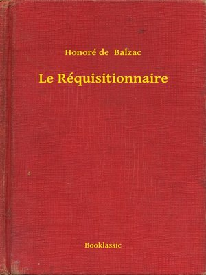 cover image of Le Réquisitionnaire