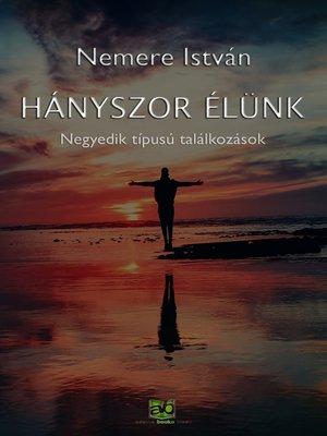 cover image of Hányszor élünk