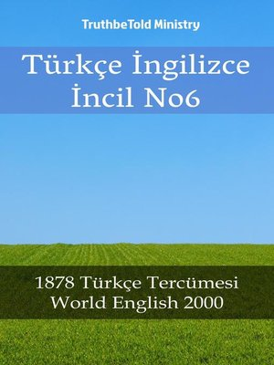 cover image of Türkçe İngilizce İncil No6