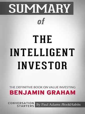 cover image of Summary of The Intelligent Investor: The Definitive Book on Value Investing