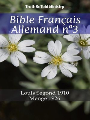 cover image of Bible Français Allemand n°3
