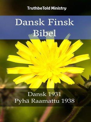cover image of Dansk Finsk Bibel