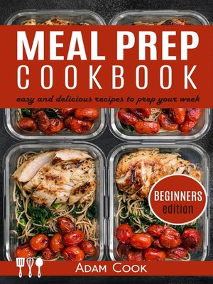 cover image of Meal Prep Cookbook