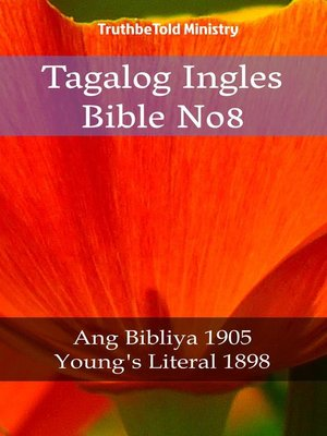 cover image of Tagalog Ingles Bible No8