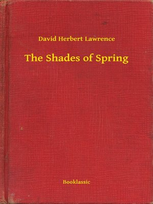 cover image of The Shades of Spring