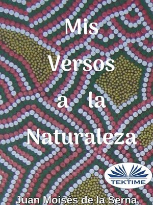 cover image of Mis Versos a La Naturaleza
