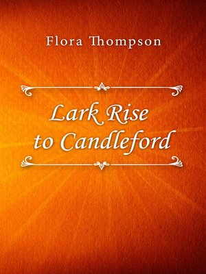 cover image of Lark Rise to Candleford