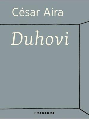 cover image of Duhovi