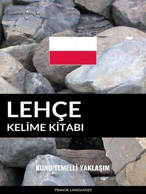 cover image of Lehçe Kelime Kitabı