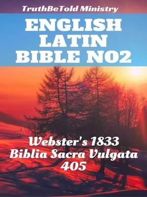 cover image of English Latin Bible No2