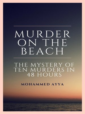 cover image of Murder on the Beach