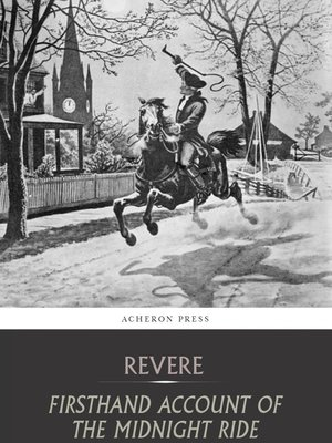 cover image of Firsthand Account of the Midnight Ride