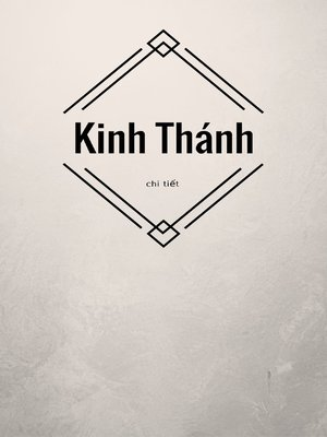 cover image of Kinh Thánh